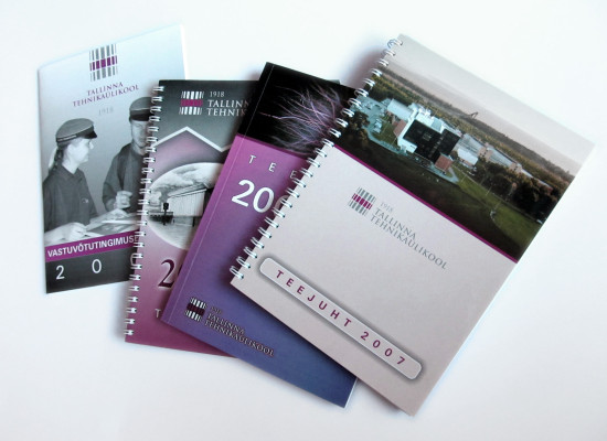 Invitations, postcards, brochures, calendars 2001-2008