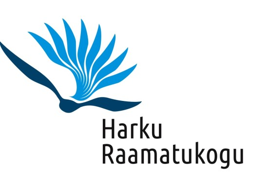 Harku Raamatukogu logo