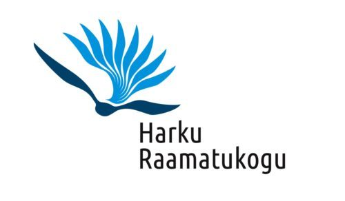 Harku Raamatukogu logo, design Grafilius OÜ
