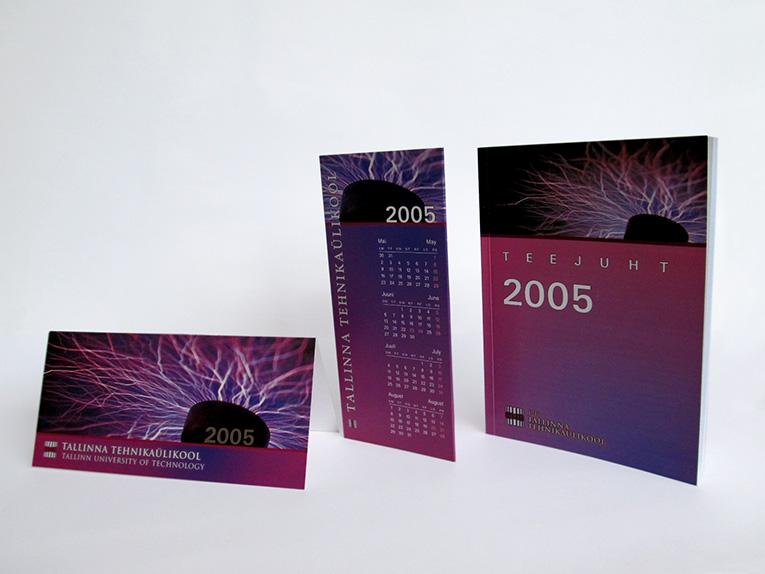 Set of Prints for Tallinn University of Technology, 2005. Design Aili Mittal-Jõgiste