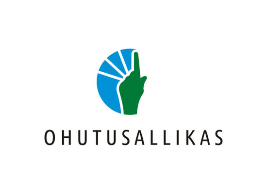 Ohutusallikas OÜ logo and business card
