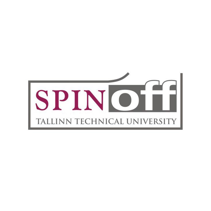 Tallinn University of Technology Spin-off logo. Design Aili Mittal-Jõgiste