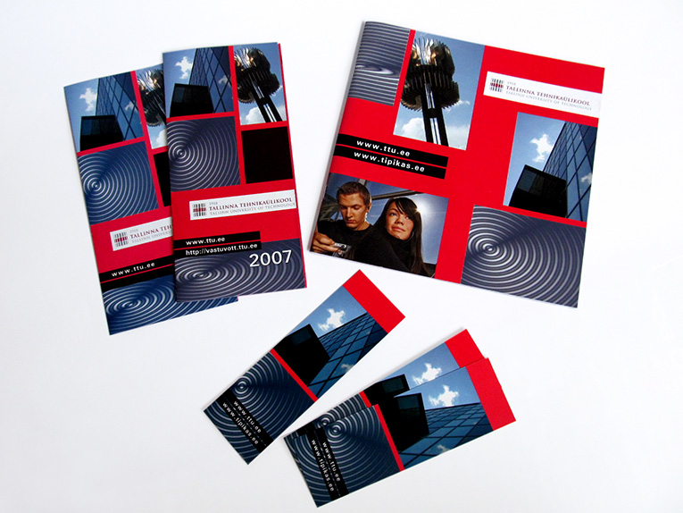 Set of Prints for Tallinn University of Technology, 2007. Design Aili Mittal-Jõgiste