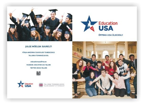 Brochure for the Education USA Advising Center, 2014