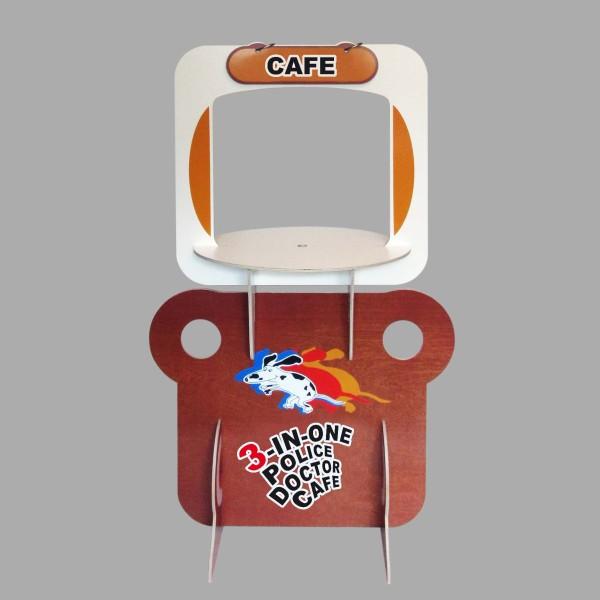 Playset 3-in-1, cafe. Grafilius OÜ
