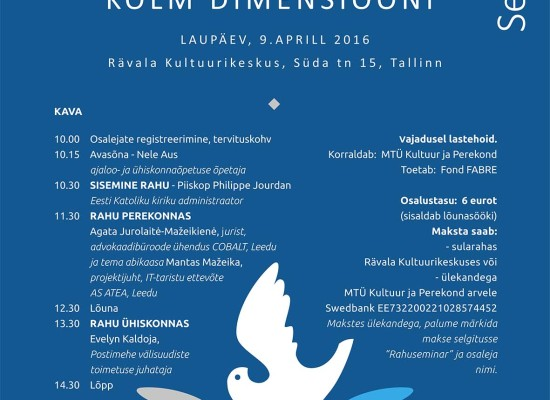 Seminar Three Dimensions of Peace