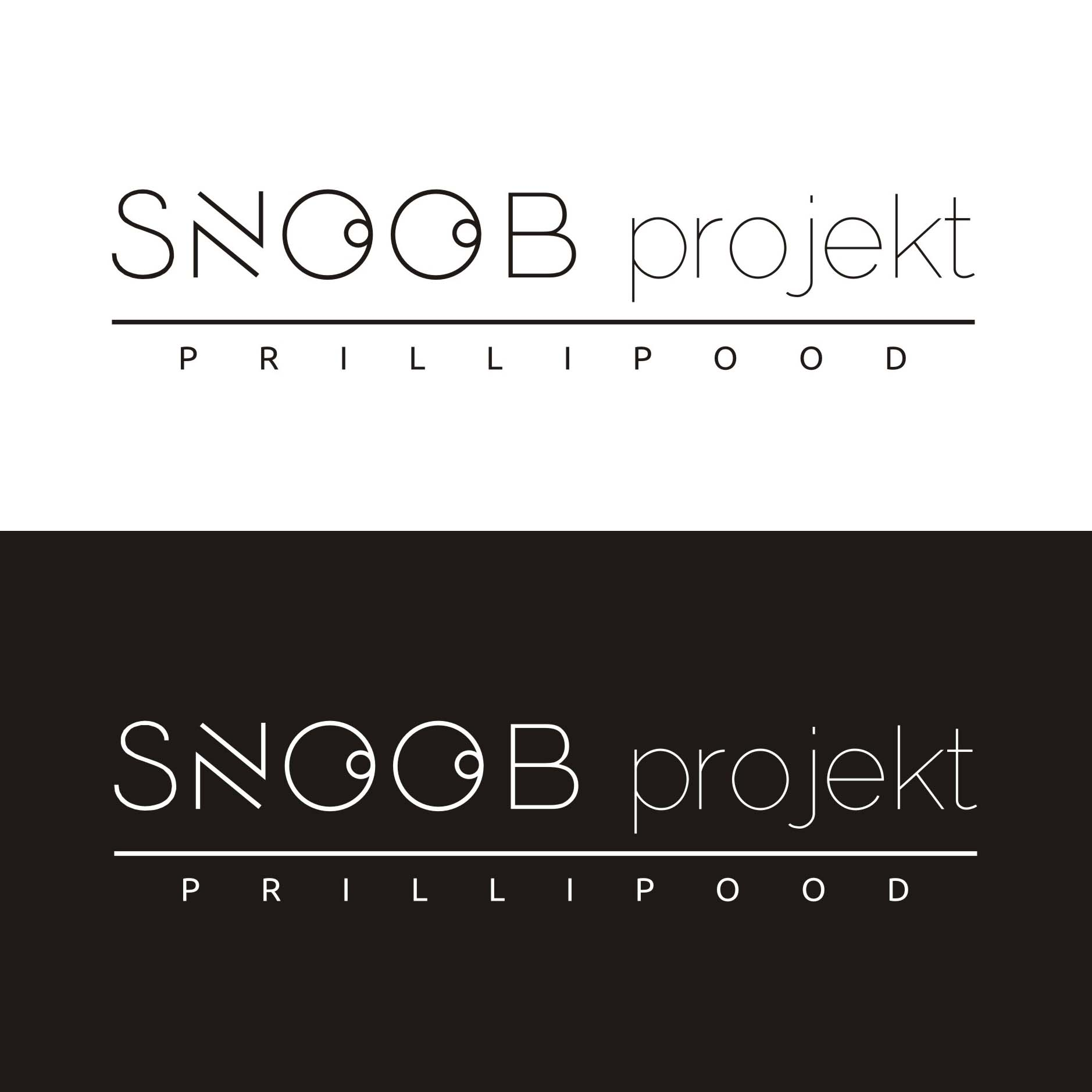 Prillipood Snoob Projekt logo