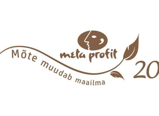 Meta-Profit 20. aastapäeva logo