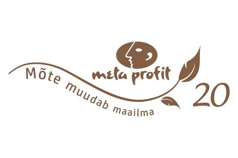 Metaprofit 20 logo. Kujundus Grafilius OÜ olemasoleva logo baasil.