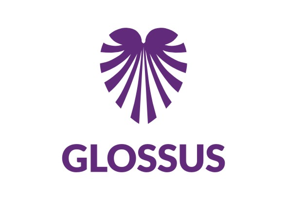 LV Glossus OÜ logo, kujundus Grafilius OÜ