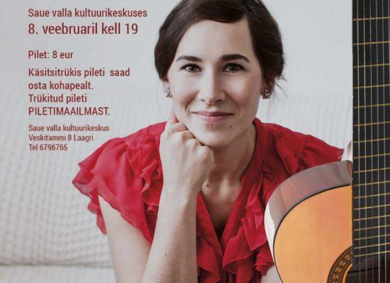 Poster for concert: Mari Jürjens 2017