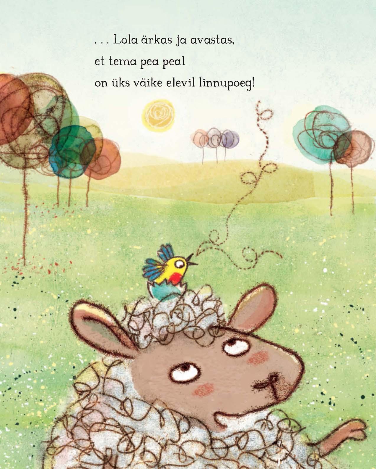 Lammas, kas haudus muna. Tekst ja illustratsioonid Gemma Merino, küljendus Grafilius OÜ. Kirjastus Glossus 2017