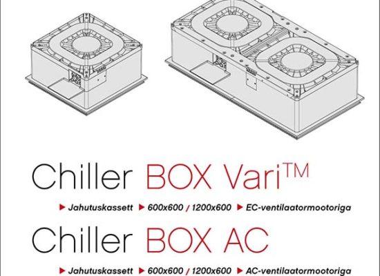 Chiller Box Vari cassette fancoil manual