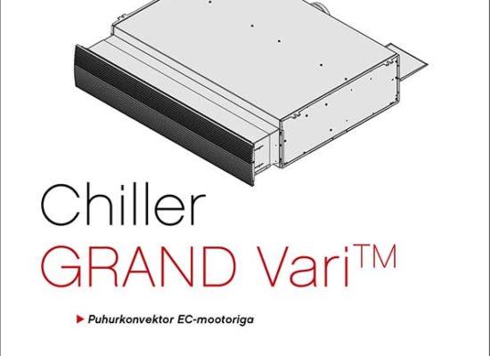 Chiller Grand Vari fancoil manual