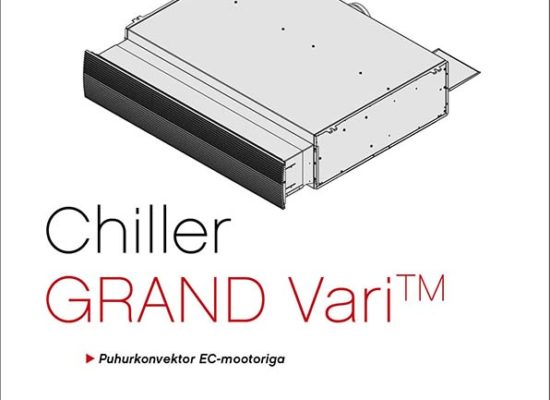 Puhurkonvektor Chiller Grand Vari manuaal