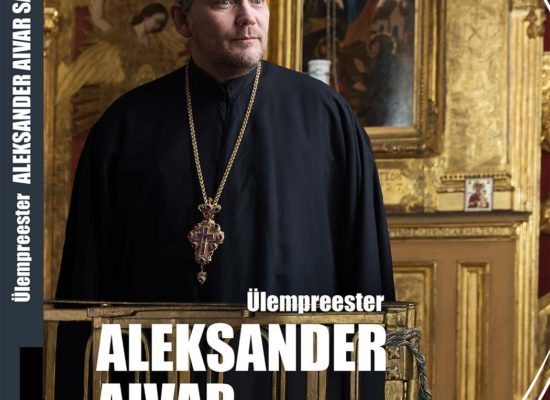 Layout: Aleksander Aivar Sarapik, book of the series Our Clergymen