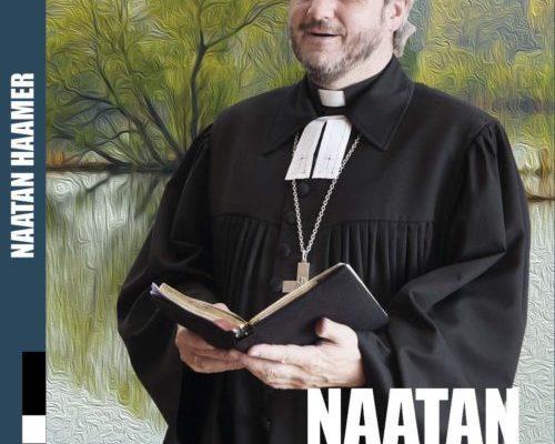 Küljendus ja kaanekujundus raamatule Naatan Haamer, sarjast Meie vaimulikud